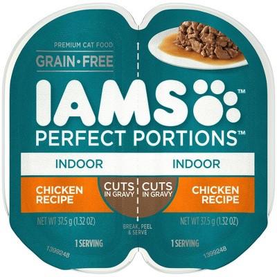 IAMS Grain Free Indoor Wet Cat Food - 2.6oz