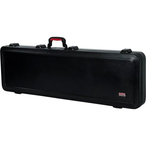 Gator TSA ATA Molded Bass Guitar Case Black Black - image 1 of 4