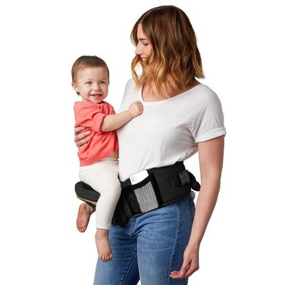 TushBaby Baby Carrier - Black/Gold