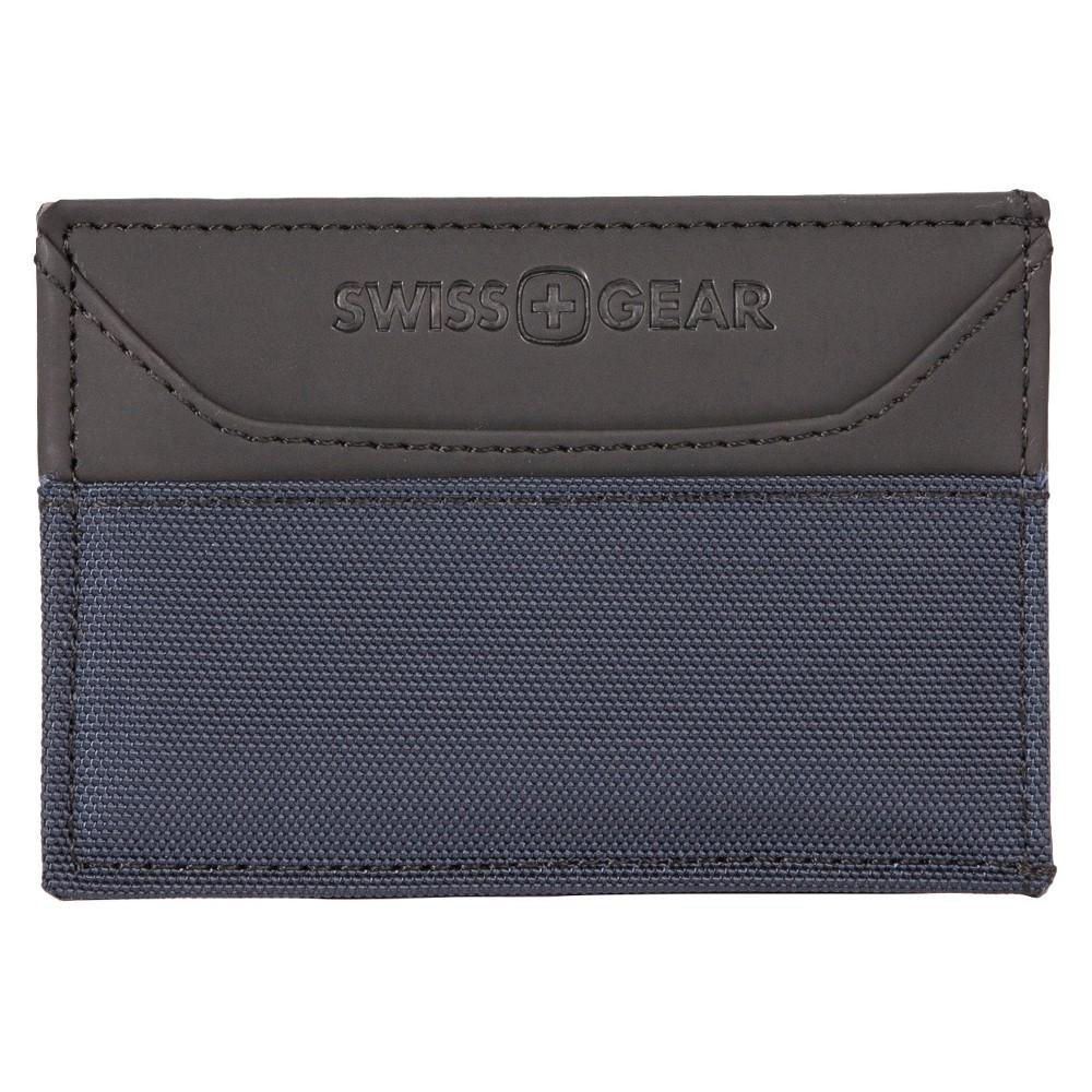Swiss Gear Men's Magnetic Money Clip Navy (Blue) Wallet - Navy One Size