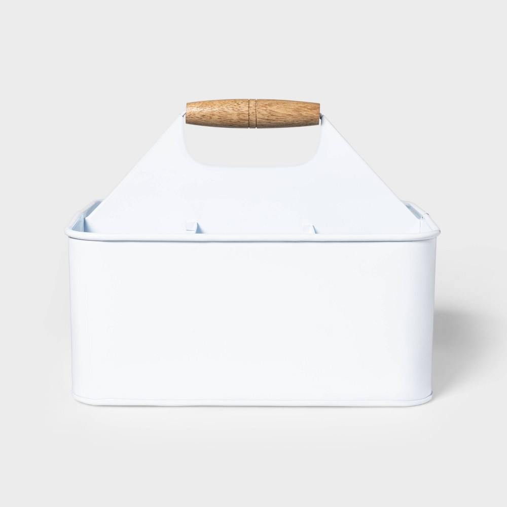 Image of Steel Condiment Caddy White - Sun Squad
