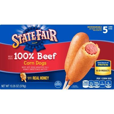 State Fair Frozen Beef Corn Dogs - 13.35oz/5ct
