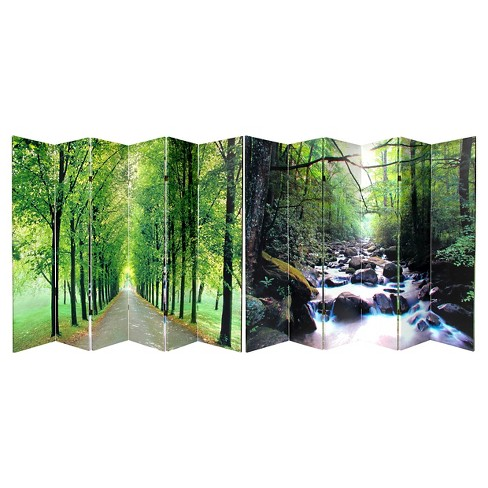 Path of Life Room Double Sided Divider - Oriental Furniture - image 1 of 3
