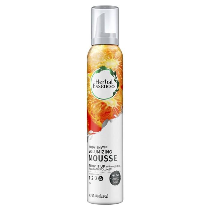 Herbal Essences Body Envy Volumizing Mousse With Citrus Essences - 6.8oz : Target