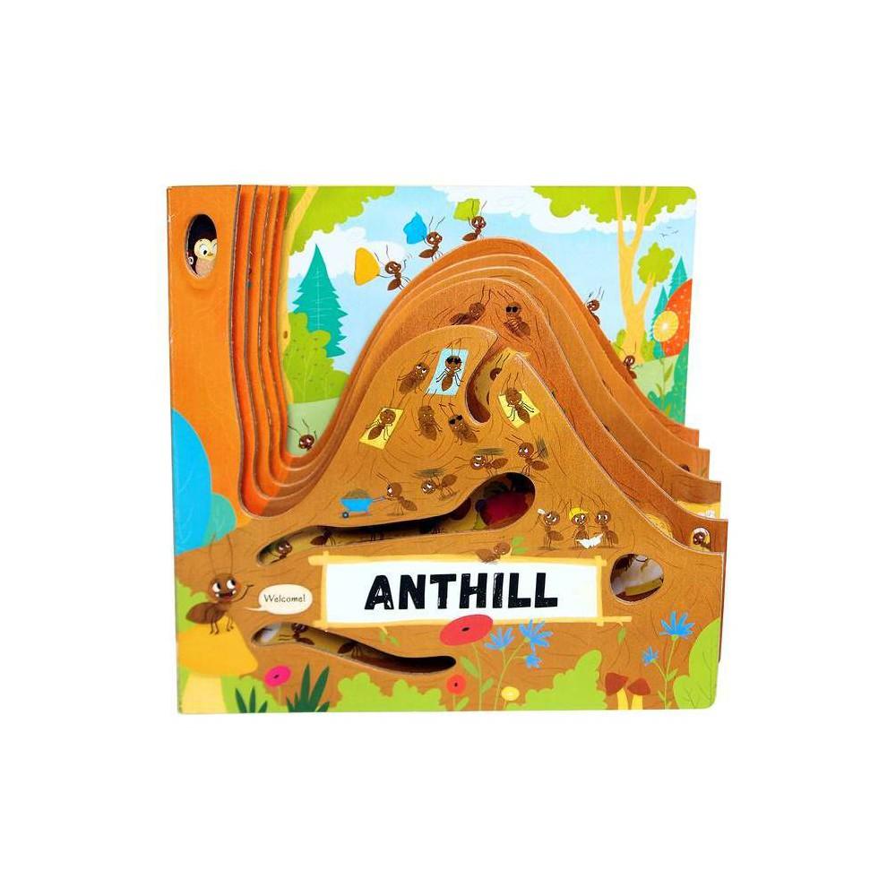 Anthill Peek Inside By Petra Bartikova Board Book