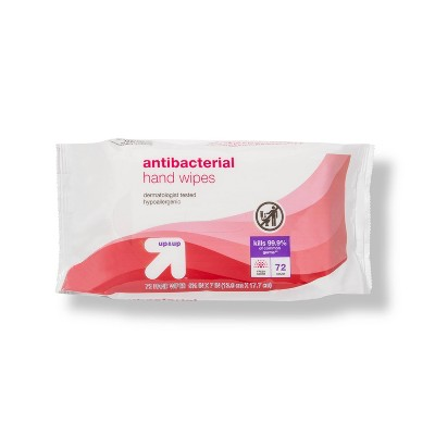 Antibacterial Moist Wipes Fresh Scent - 72ct - up & up™