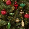 10ct Glass Ornaments Red Gold & Green - Wondershop™ - image 2 of 3
