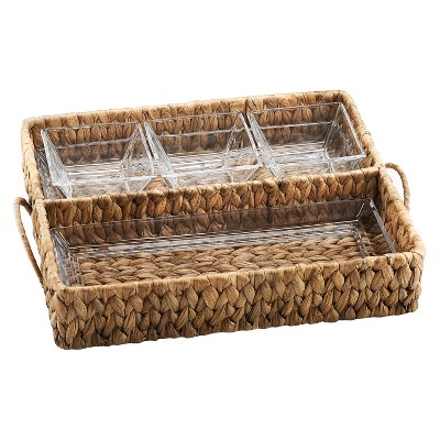 Artland® Garden Terrace Square 5pc Divided Serving Tray