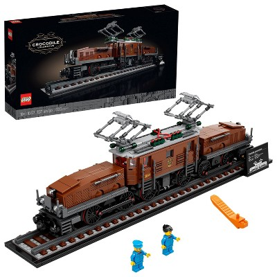 LEGO Crocodile Locomotive Relaxing DIY Project for Adults 10277
