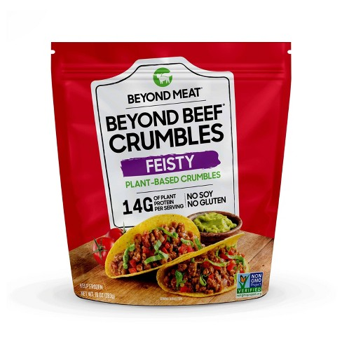 Beyond Meat Frozen Beyond Beef Plant Based Crumbles Feisty - 10oz - image 1 of 4