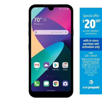 AT&T Prepaid LG Phoenix 5 (16GB) - Silver