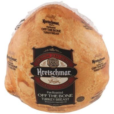 Kretschmar Pan Roasted Off the Bone Turkey Breast - Deli Fresh Sliced - price per lb