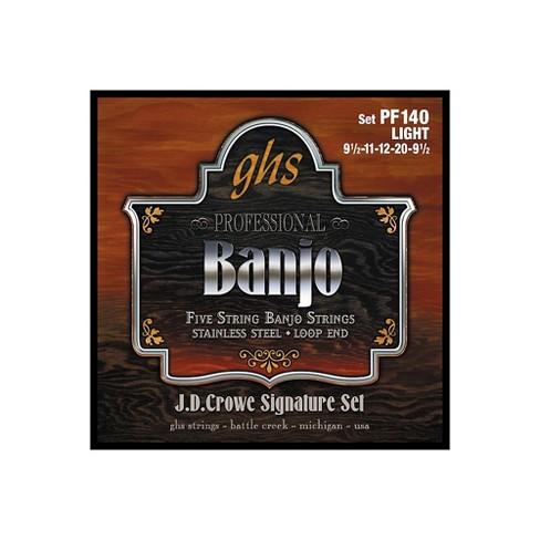 GHS J. D. Crowe Studio Signature 5-String Banjo Strings Light - image 1 of 1
