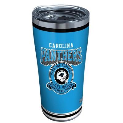NFL Carolina Panthers 20oz Vintage Stainless Tumbler