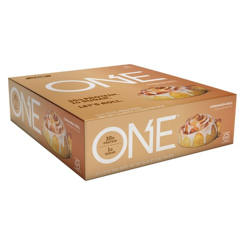 ONE Protein Bar - Cinnamon Roll - 12ct - image 1 of 3