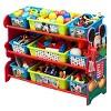 9 Bin Plastic Toy Organizer Disney Mickey Mouse - Delta Children - image 3 of 4