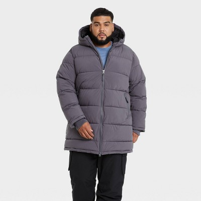 Men's Mid-Length Puffer Jacket - All in Motion™