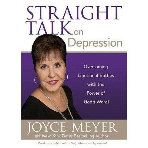 Straight Talk on Depression - by  Joyce Meyer (Paperback) - image 1 of 1