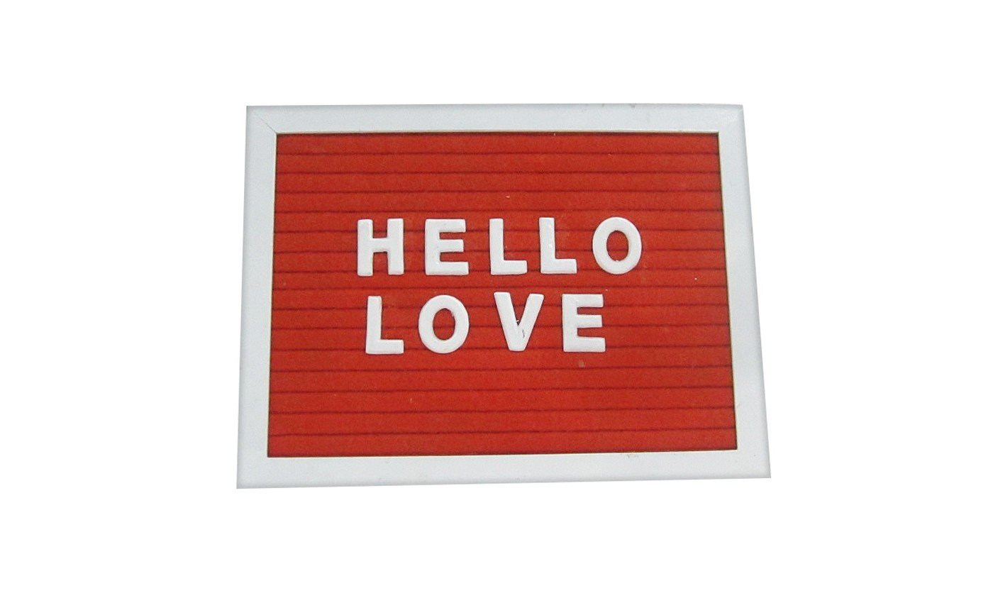 Valentine's Day Mini Wood Letter Board - Spritz™ - image 1 of 1