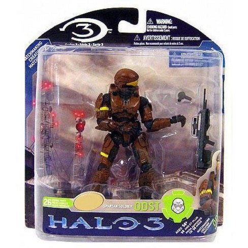 McFarlane Toys Halo 3 Series 3 Spartan Soldier ODST Action Figure [Brown] - image 1 of 1