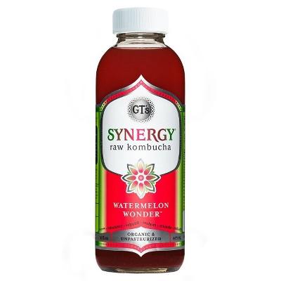 GT's Synergy Watermelon Wonder Kombucha - 16 fl oz