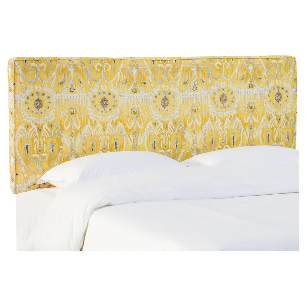 Austin Headboard Alessandra Lemon Queen - Skyline Furniture