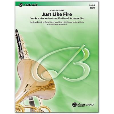 BELWIN Just Like Fire Conductor Score 2 (Easy)