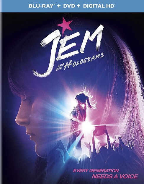 Jem and the Holograms (Blu-ray/DVD) - image 1 of 1