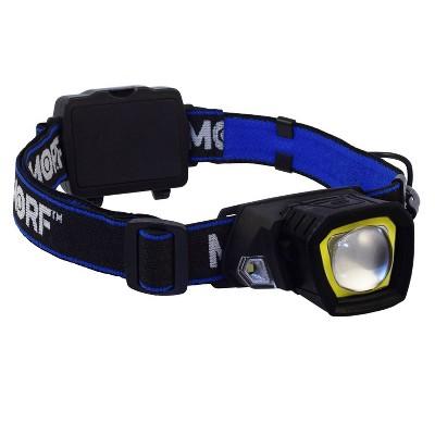 Police Security Flashlights Rugged Morf R230 LED Headlamp + Flashlight