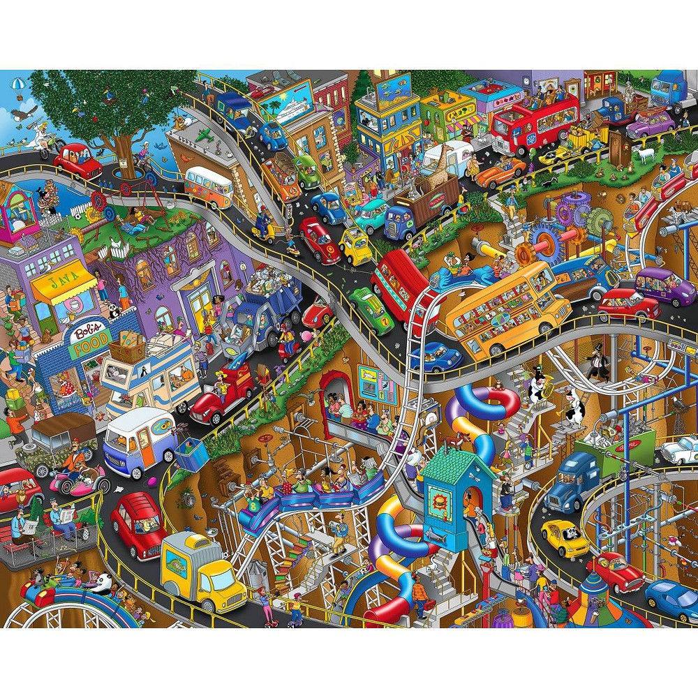 Springbok Getting Away Jigsaw Puzzle 1000pc