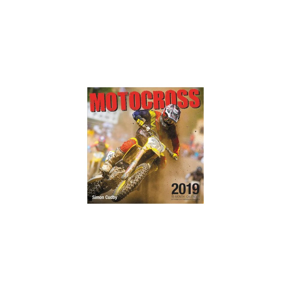 Motocross 2019 Calendar - (Paperback)