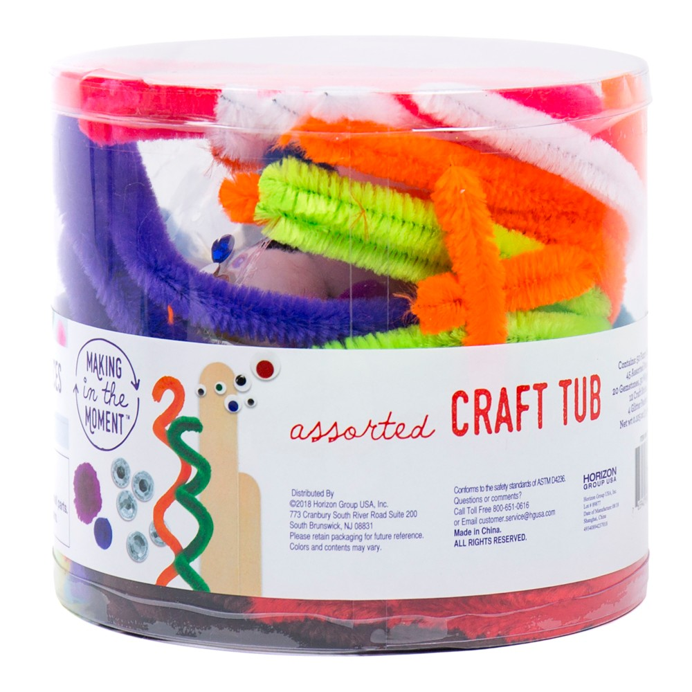Craft Tub - Making in the Moment, Multi-Colored