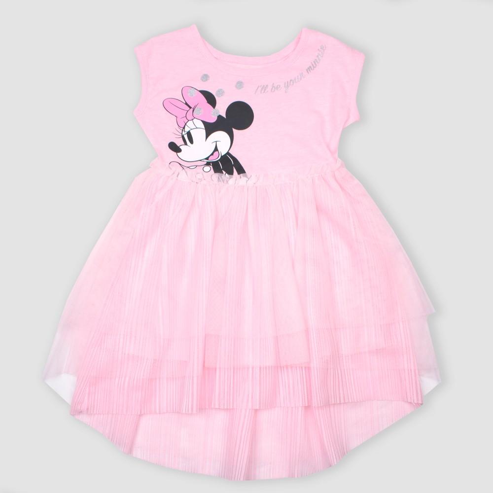 Toddler Girls Disney Minnie Mouse Tutu Dress Pink 2t