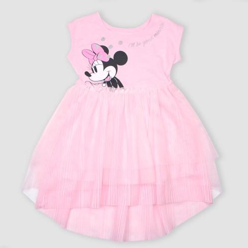 Toddler Girls' Disney Minnie Mouse Tutu Dress - Pink - image 1 of 1
