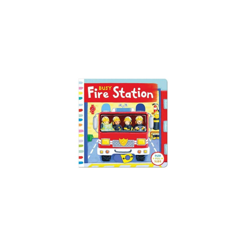 Busy Fire Station (Hardcover)