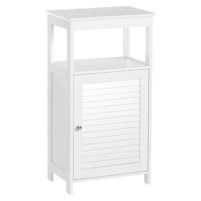 Ellsworth Floor Cabinet - White