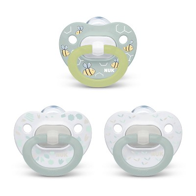 NUK Pacifier Assorted Size 0-6 months Value Pack - Boy - 3pk