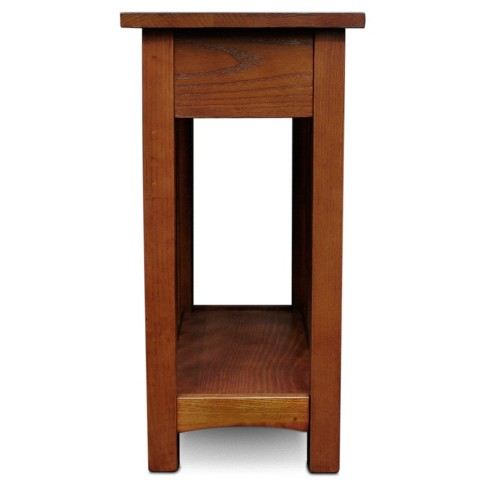 Mission End Table With Shelf Medium Oak Leick Home Target