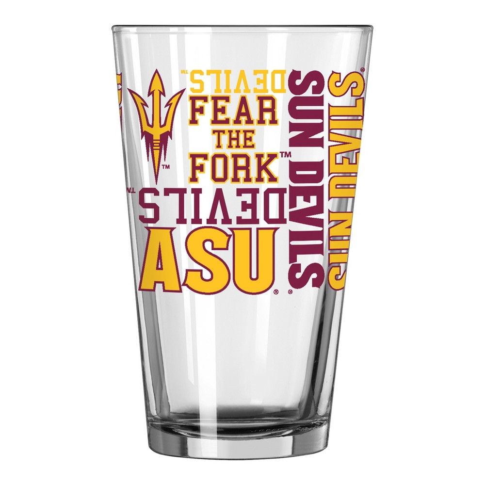 NCAA Arizona State Sun Devils Single Boxed Pint Glass - 16oz