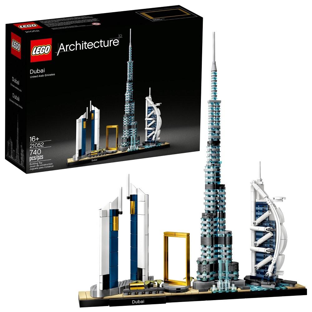 Lego Architecture Skylines Dubai Collectible Architecture Building Set 21052