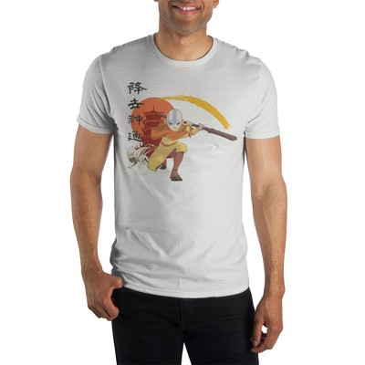 Avatar: The Last Airbender Aang White Short-Sleeve T-Shirt