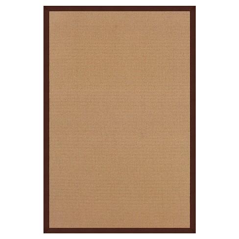 "Athena Wool Area Rug - Brown (8'9"" X 12') - image 1 of 1"