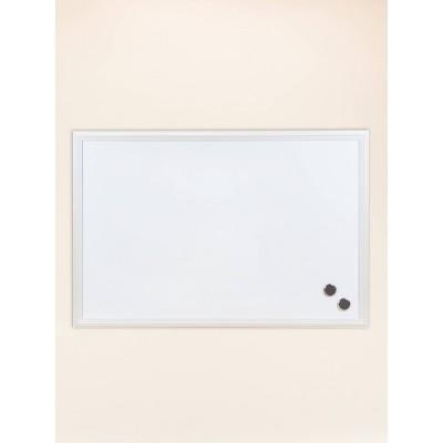 "U Brands 30""x20"" Magnetic Dry Erase Board White Decor Frame"