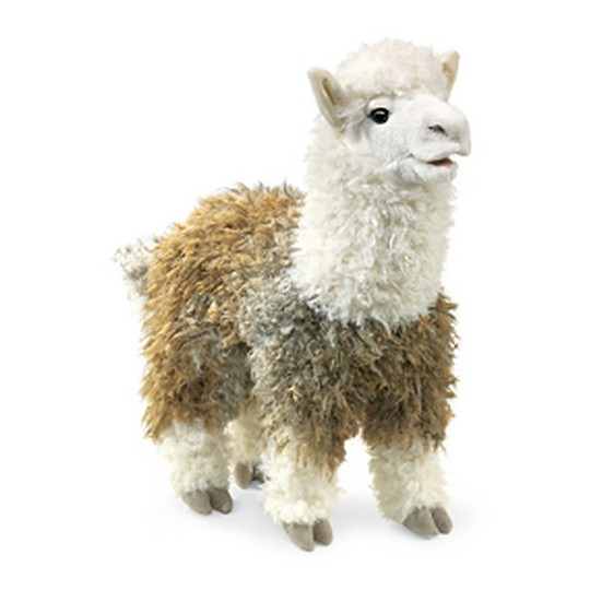 Folkmanis Alpaca Hand Puppet image number null