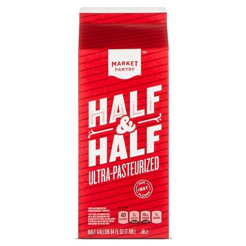 Half & Half - 0.5gal - Market Pantry™ - image 1 of 1