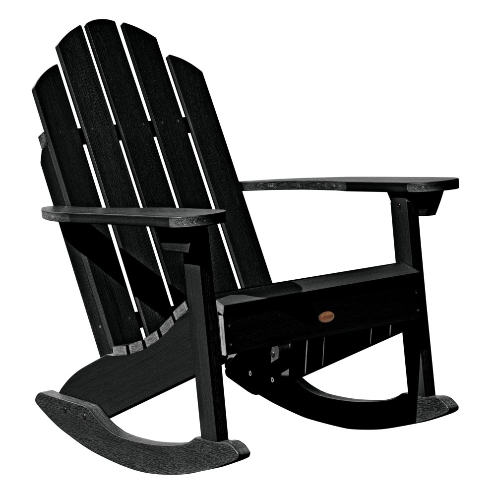Classic Westport Adirondack Rocking Chair Black - Highwood