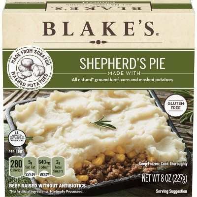 Blake's All Natural Frozen Shepherds Pie - 8oz