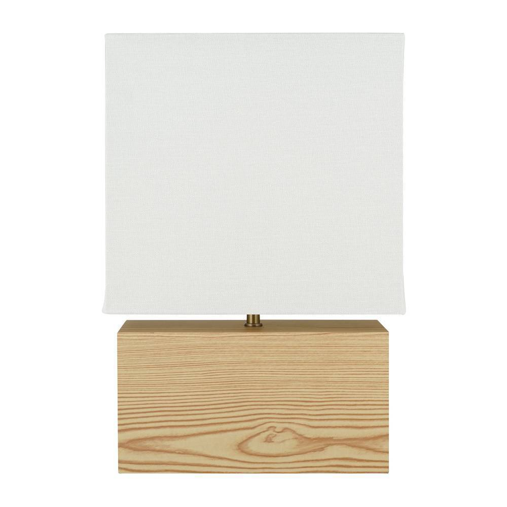 14 5 34 Mdf Table Lamp Natural Cresswell Lighting