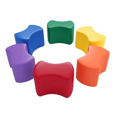 SoftZone Toddler Modular Stool Set 6-Piece