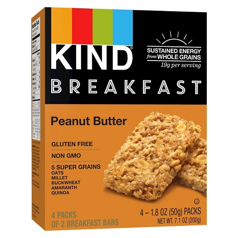 KIND Peanut Butter Breakfast Bars - 4ct - image 1 of 4